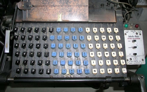 Linotype Keyboard