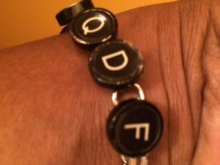 Bracelet courtesy of Brenda Starr